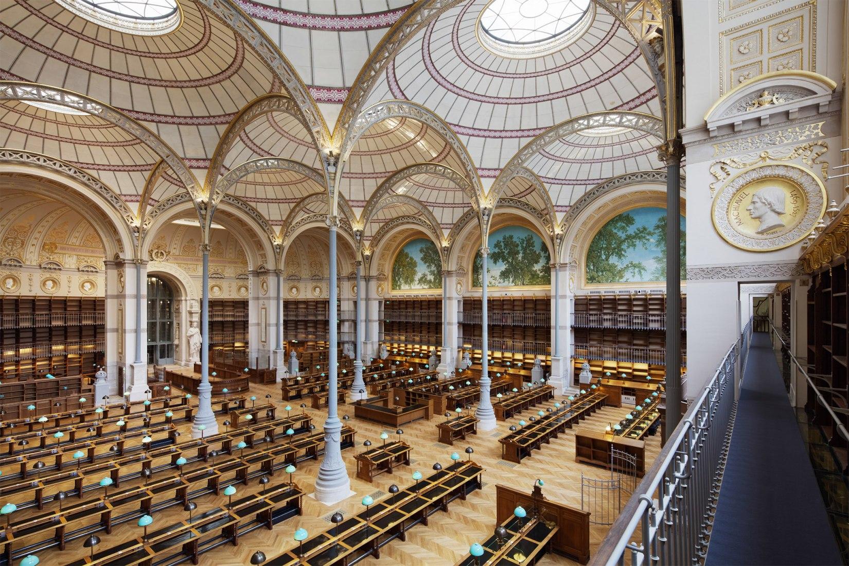 Resultado de imagen de biblioteca nacional de paris