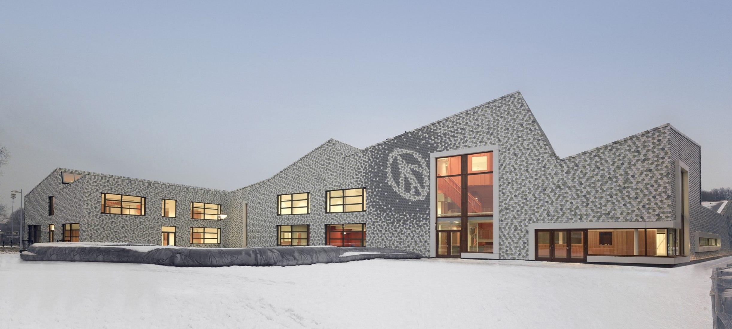 De Zonneboom, alojamiento multifuncional por las arquitectas Drost + van Veen. Fotografía © Drost + ARQUITECTOS van Veen