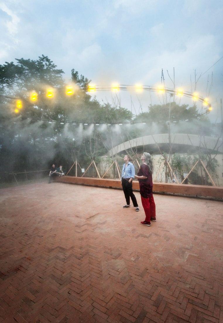 Yellow Dust by C+arquitectos / In The Air. Photograph © Daniel Ruiz