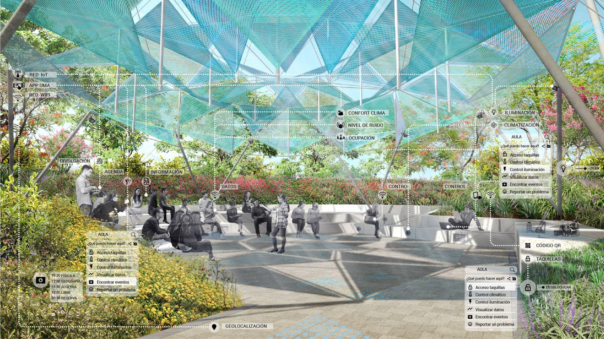 Campus Universidad de Málaga | Clase abierta por Ecosistema Urbano