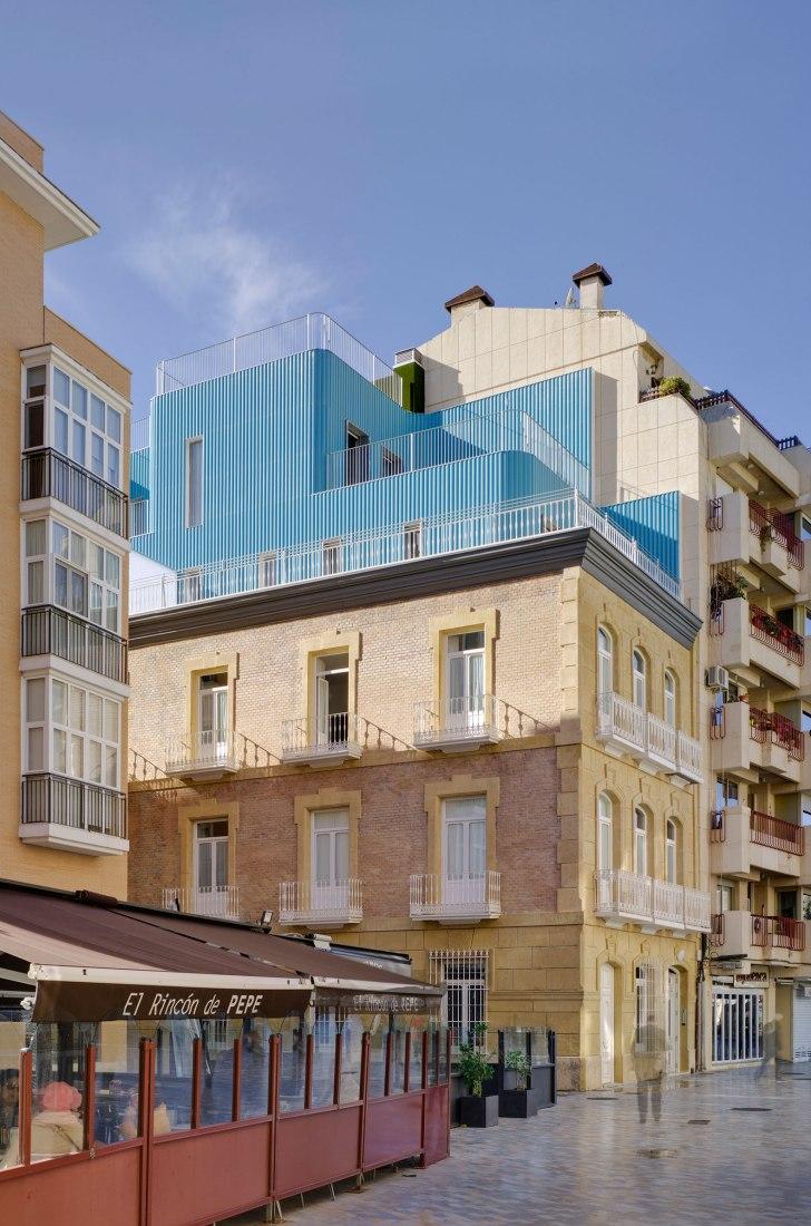 Tívoli Building by Martín Lejarraga Architecture Office. Photograph by David Frutos.