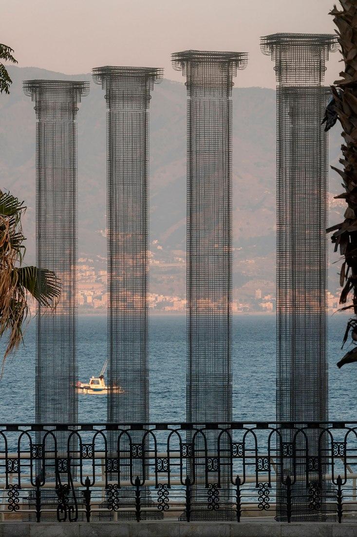 Opera by Edoardo Tresoldi. Photograph by Roberto Conte