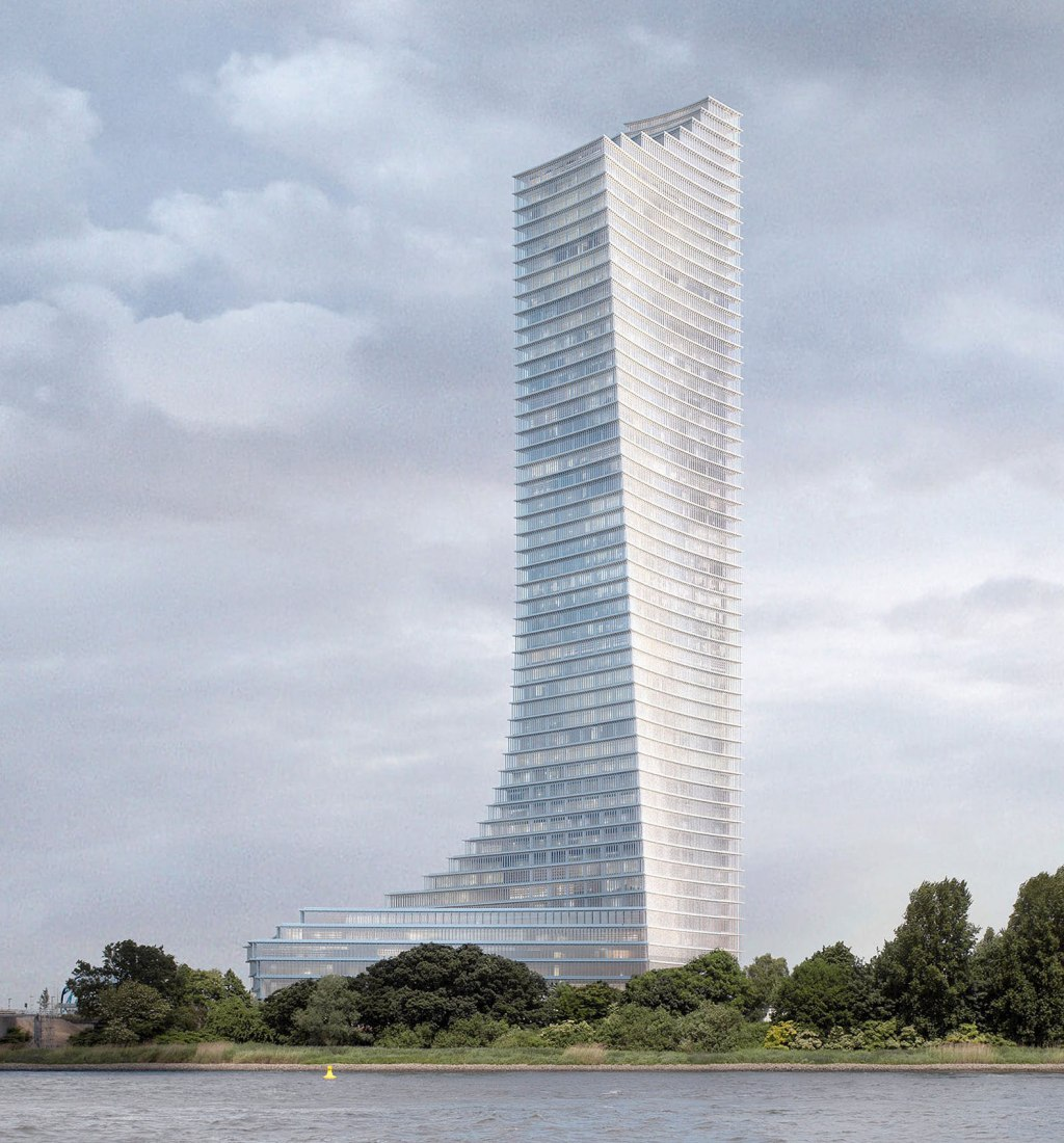 Elbtower by David Chipperfield Architects