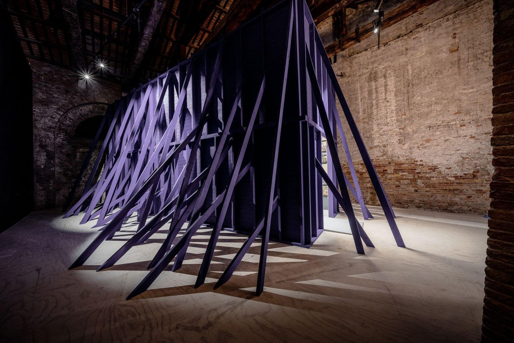 Pavilion of Chile at the Biennale di Venezia by Emilio Marín and Rodrigo Sepúlveda. Photograph by Andrea Avezzù.
