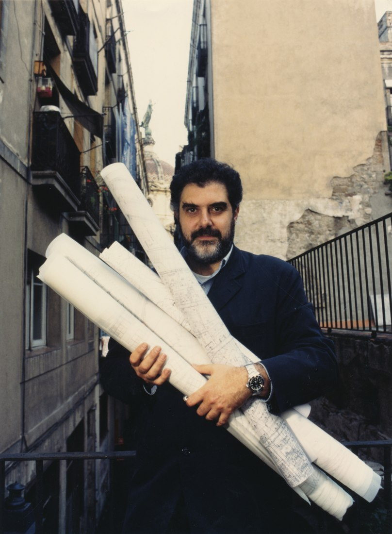 Enric Miralles, 1995. Photograph by Paco Elvira.