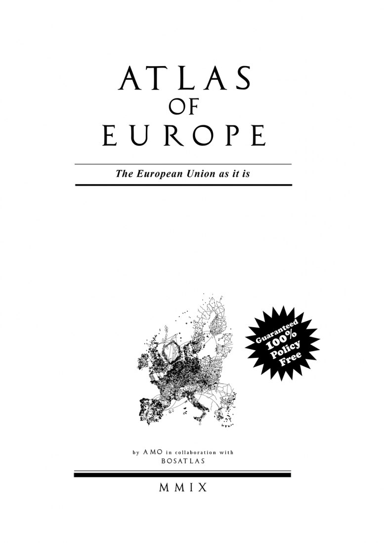 Image of Atlas of Europe by AMO in collaboration with BOSATLAS.