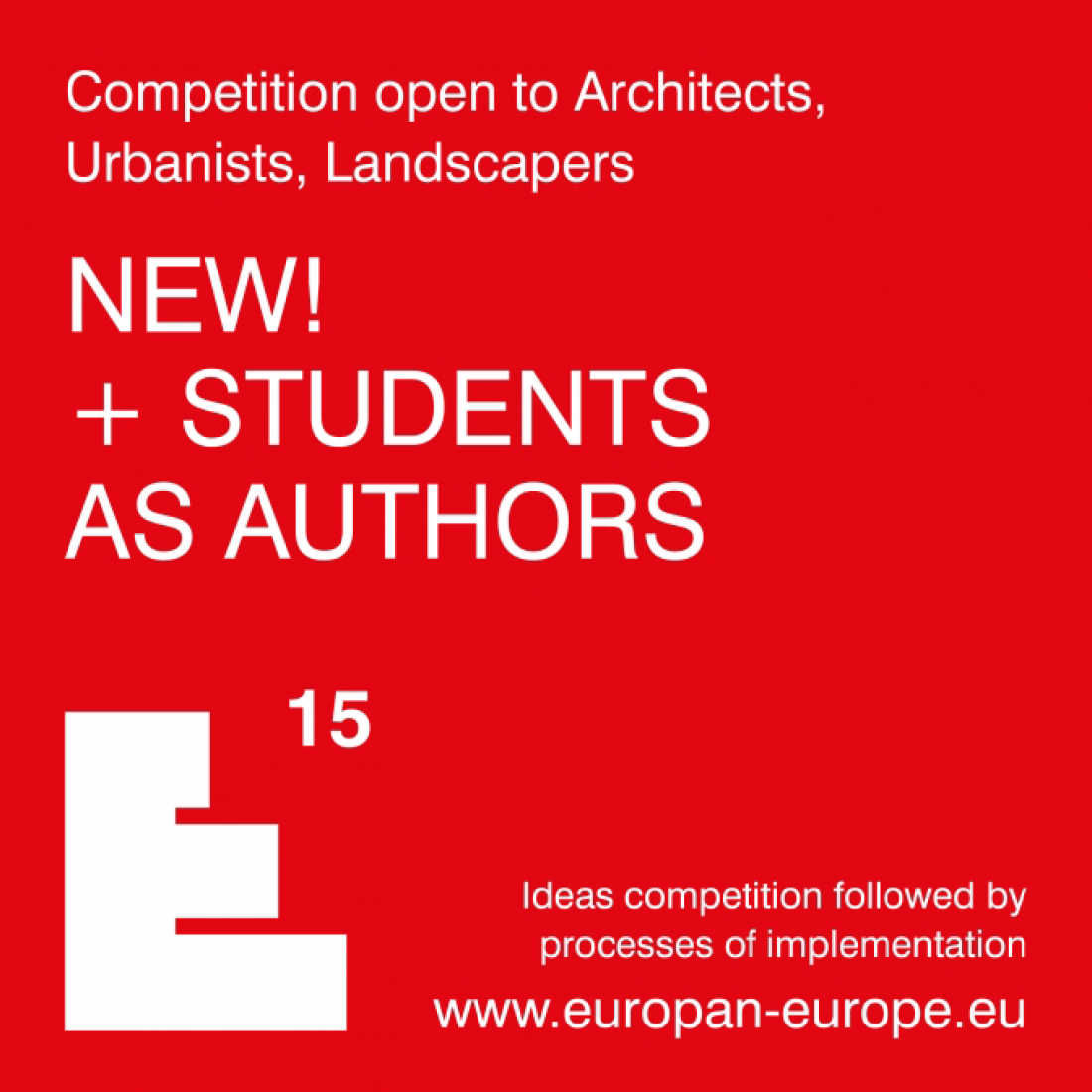 E15 NEW! + Students as authors