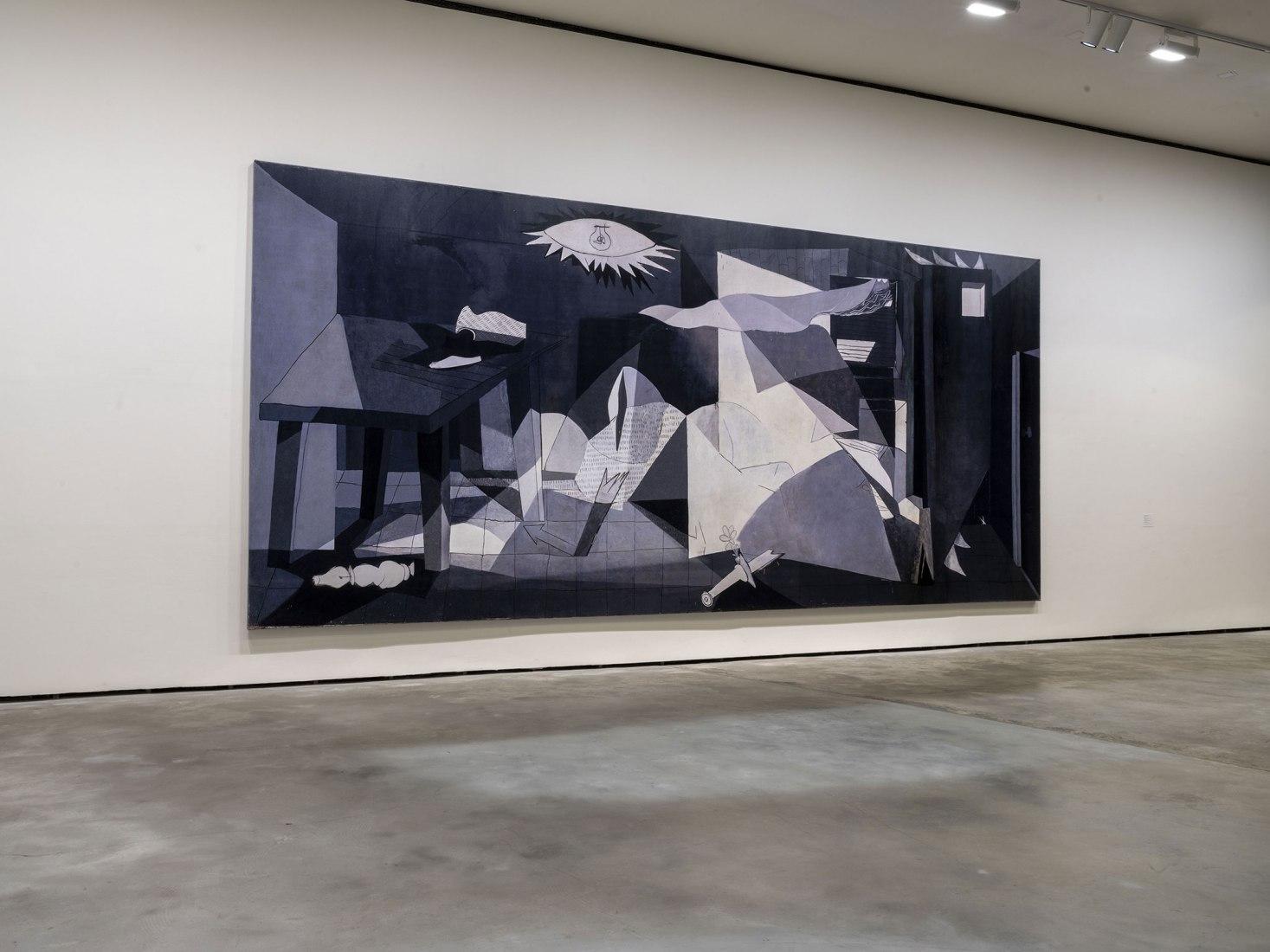 Imagen de sala. Exposición José Manuel Ballester. Fotografía cortesía del Museo Guggenheim Bilbao