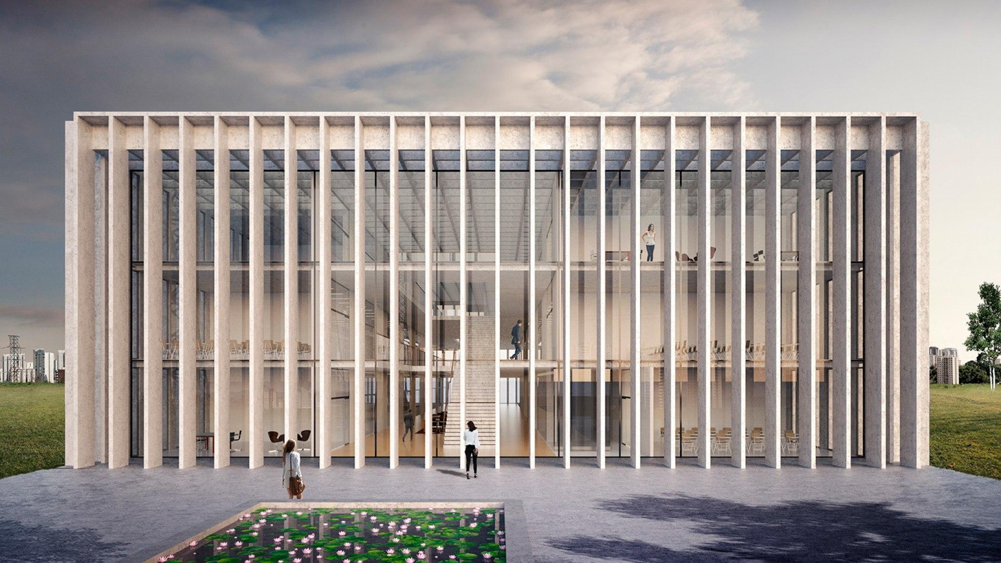 Facultad de Medicina São José dos Campos por KAAN Architecten.