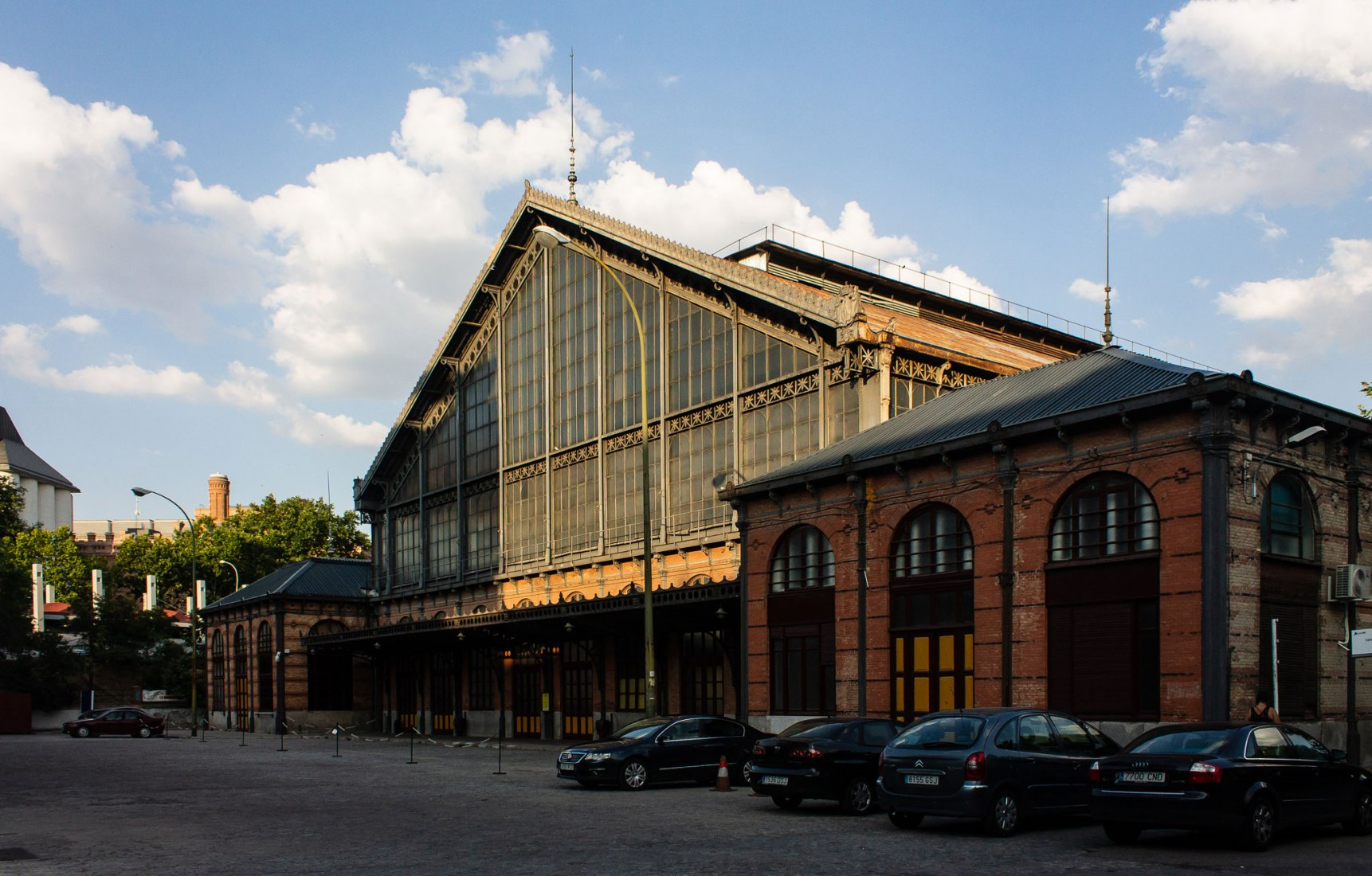 Exterior view. The Railway Museum in Open House Madrid 2018. Photograph by Judit Otero / METALOCUS