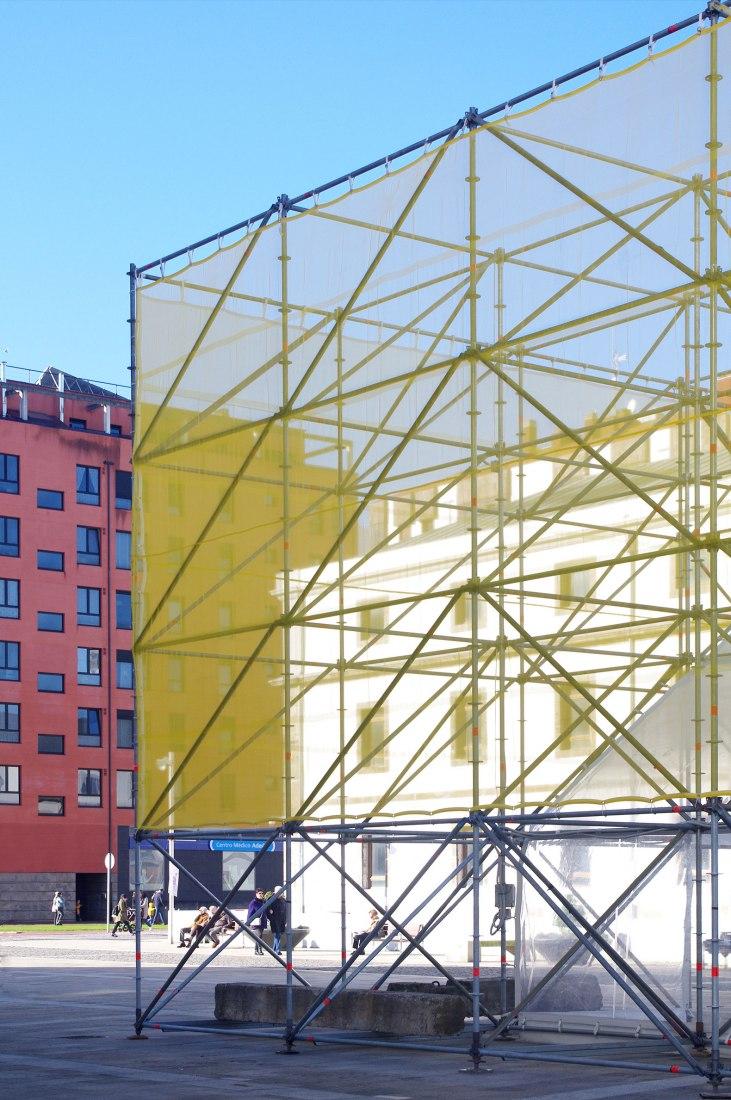 Tribuna Pública por Flu-or Arquitectura y Alba González. Fotografía por Alba González.