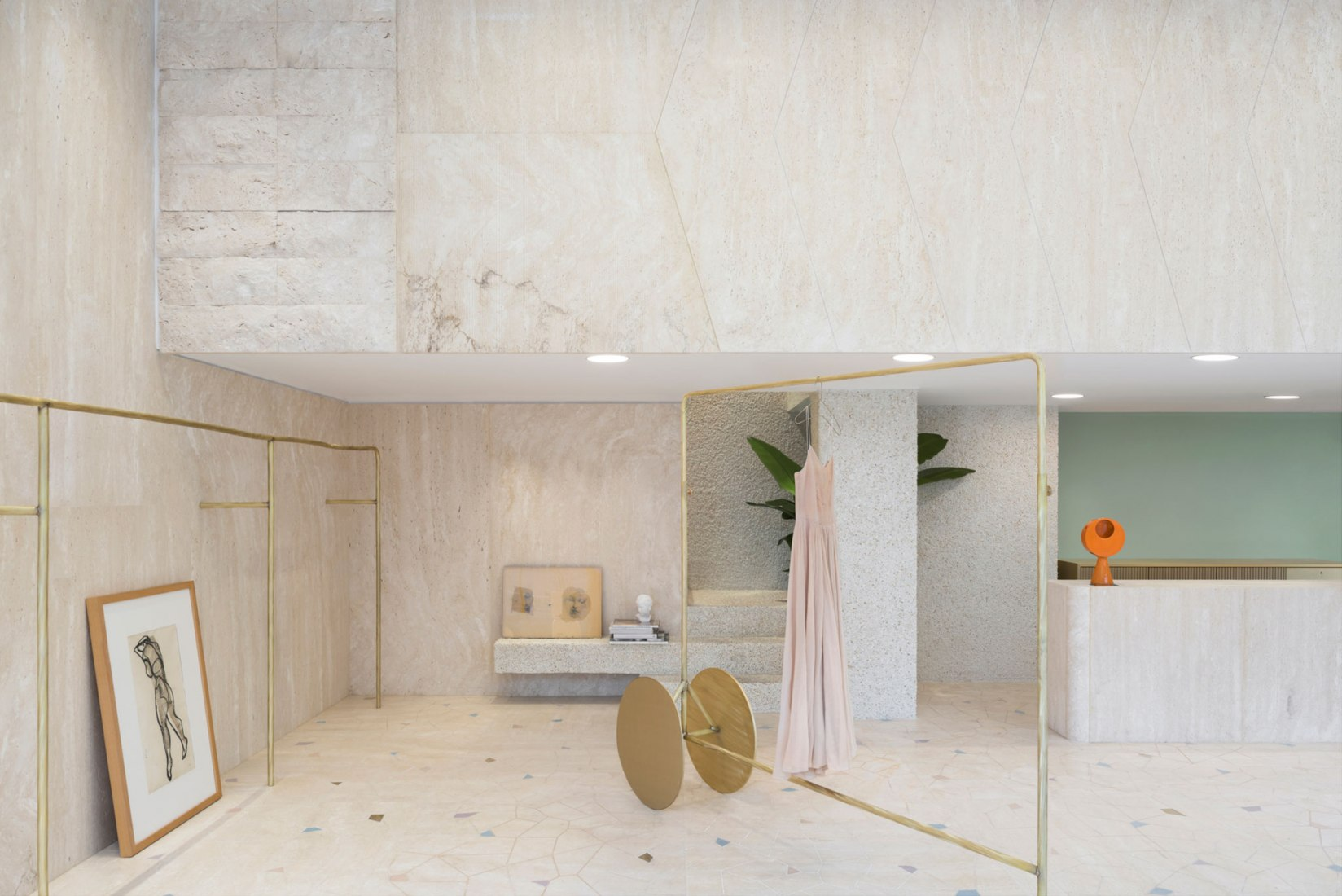 forte_forte first boutique in Milan by forte_forte. Photograph by Paola Pansini