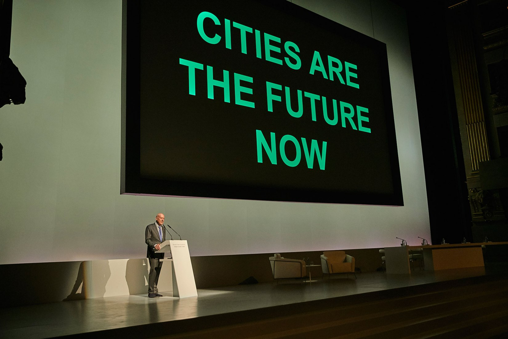 Future is now. Image © Norman Foster Foundation.