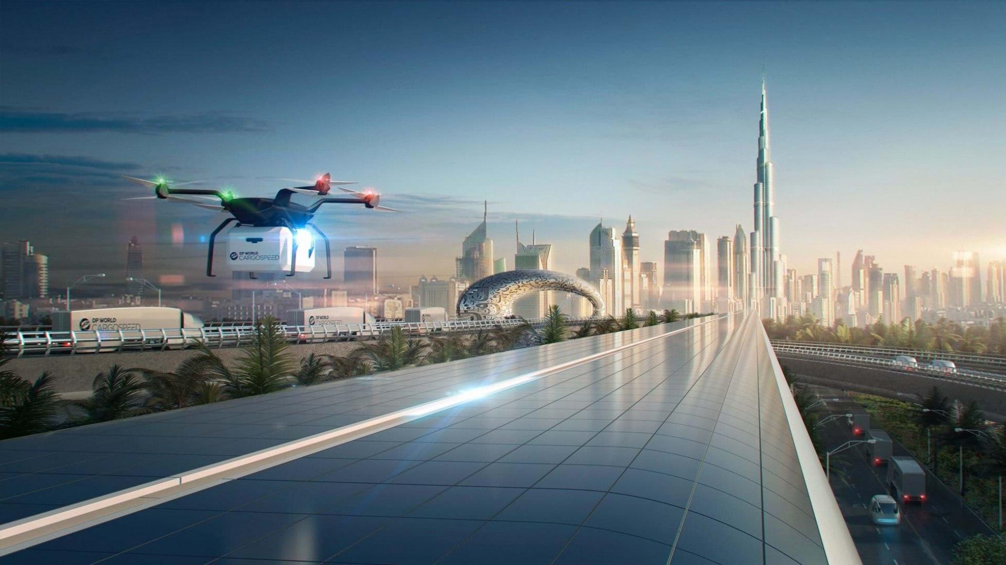 DP World Cargospeed in Dubai by Foster + Partners