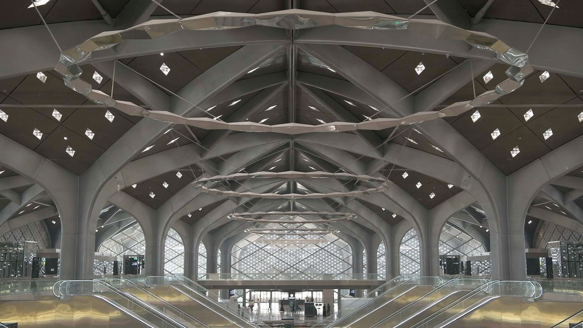 Haramain High Speed Rail by Foster + Partners. Photograph by Nigel Young / Foster + Partners