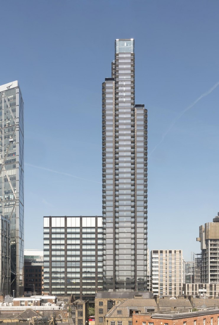 Principal Tower by Foster + Partners. Photograph by Nigel Young / Foster + Partners