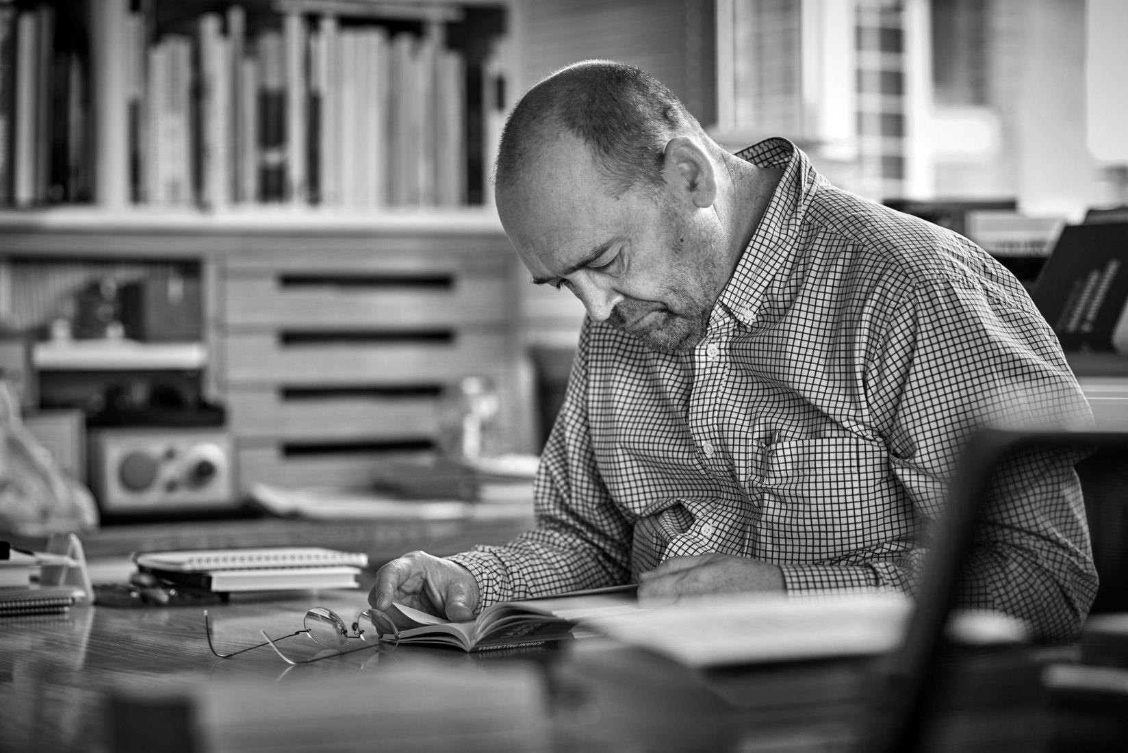 Francisco Mangado. Fotografía por Javier Ederra
