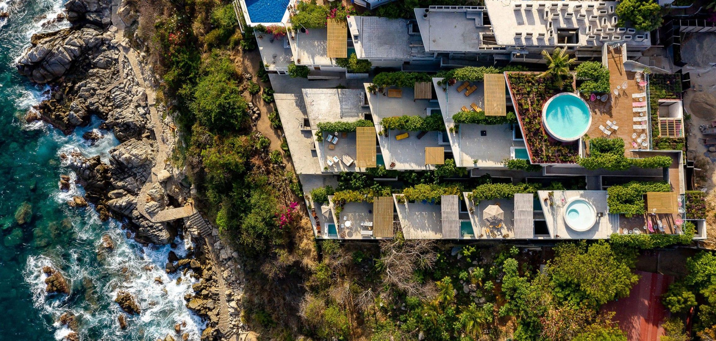 Villas La Escondida por Francisco Pardo Arquitecto. Fotografía por Onnis Luque