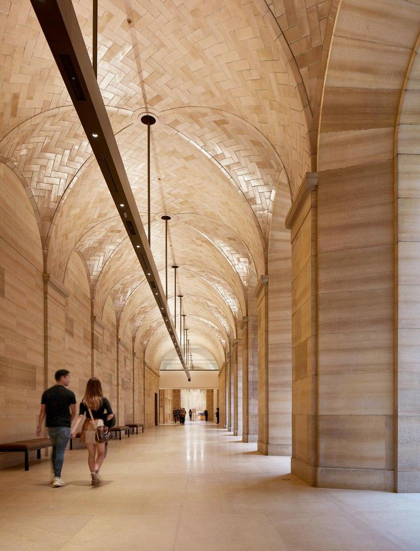 Restauración del Museo de Arte de Filadelfia, por Frank Gehry. Fotografía por Steve Hall