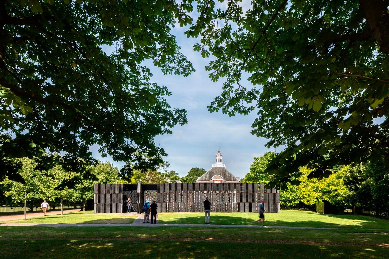 Serpentine Pavilion 2018, designed by Frida Escobedo, Serpentine Gallery, London (15 June – 7 October 2018) © Frida Escobedo, Taller de Arquitectura, Photography © 2018 Rafael Gamo