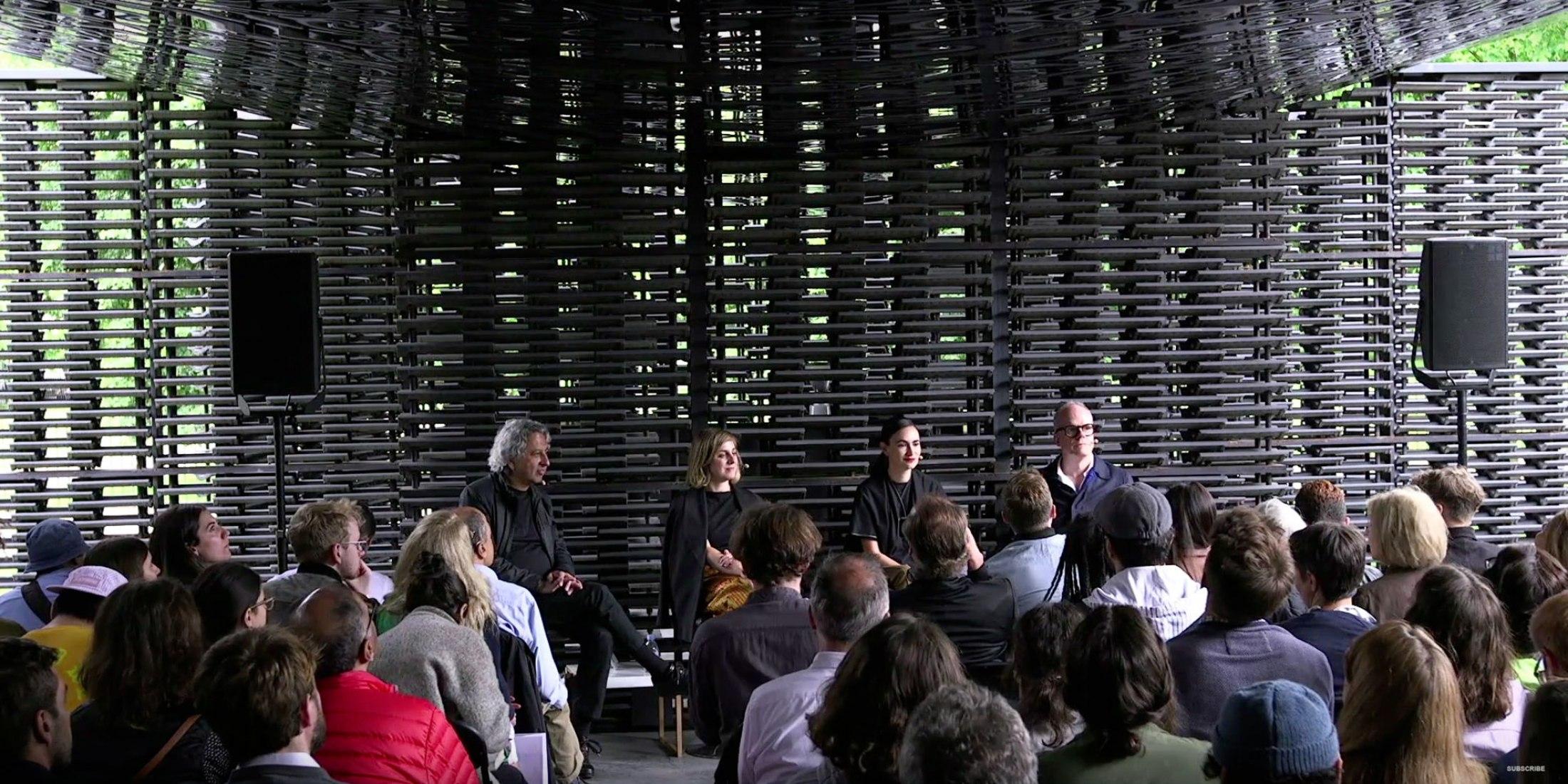 Serpentine Architecture 2018. Frida Escobedo in conversation