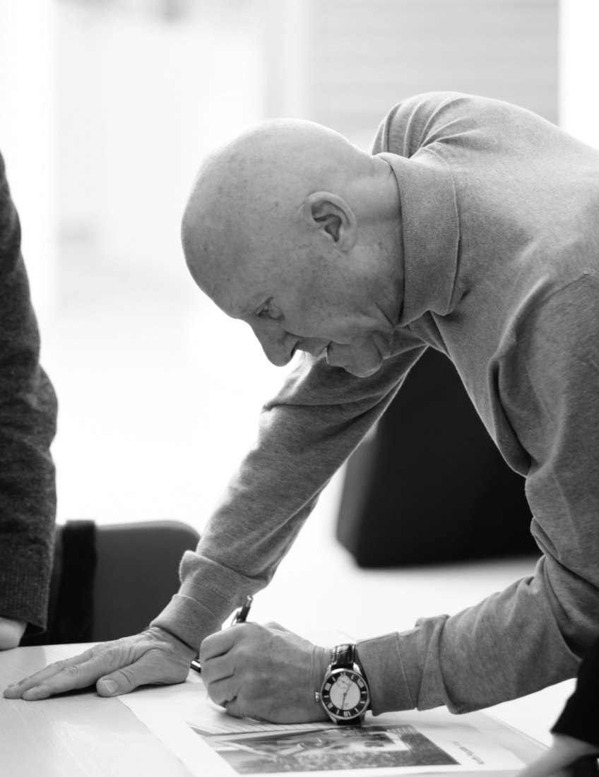 Sir Norman Foster. Image courtesy of Norman Foster Foundation