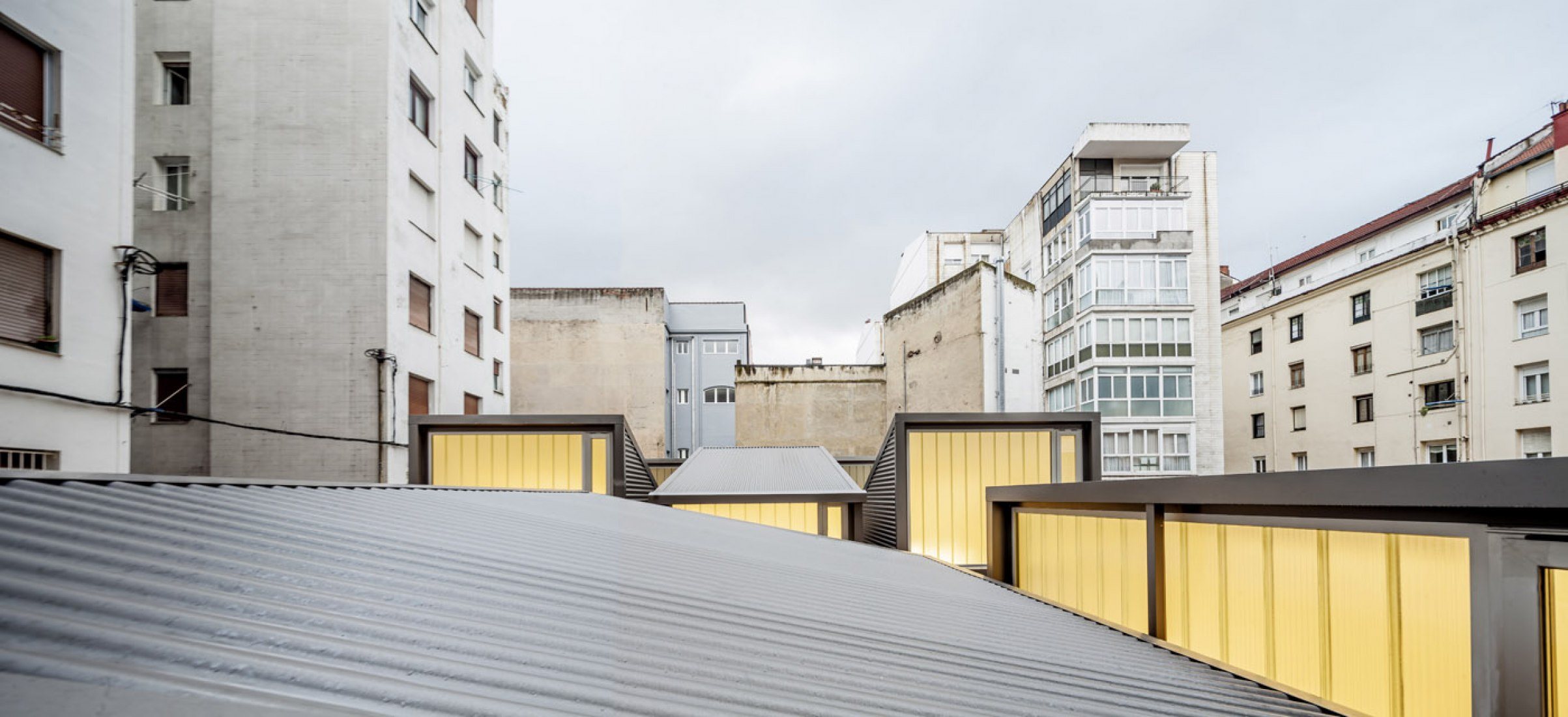 CarrerasMugica Gallery in Bilbao by Estudio Herreros. Photography © Jaime Gartzia