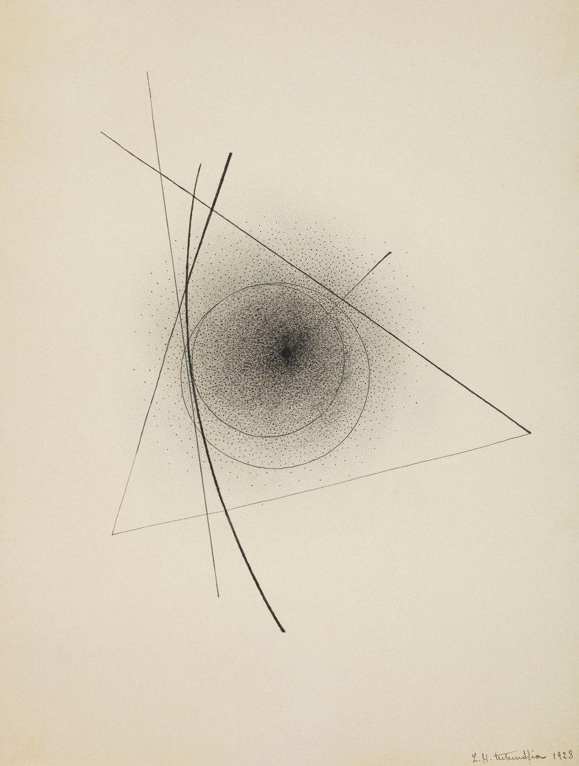 Sans titre, 1928. Ink on paper 31.5 x 23.5 cm.