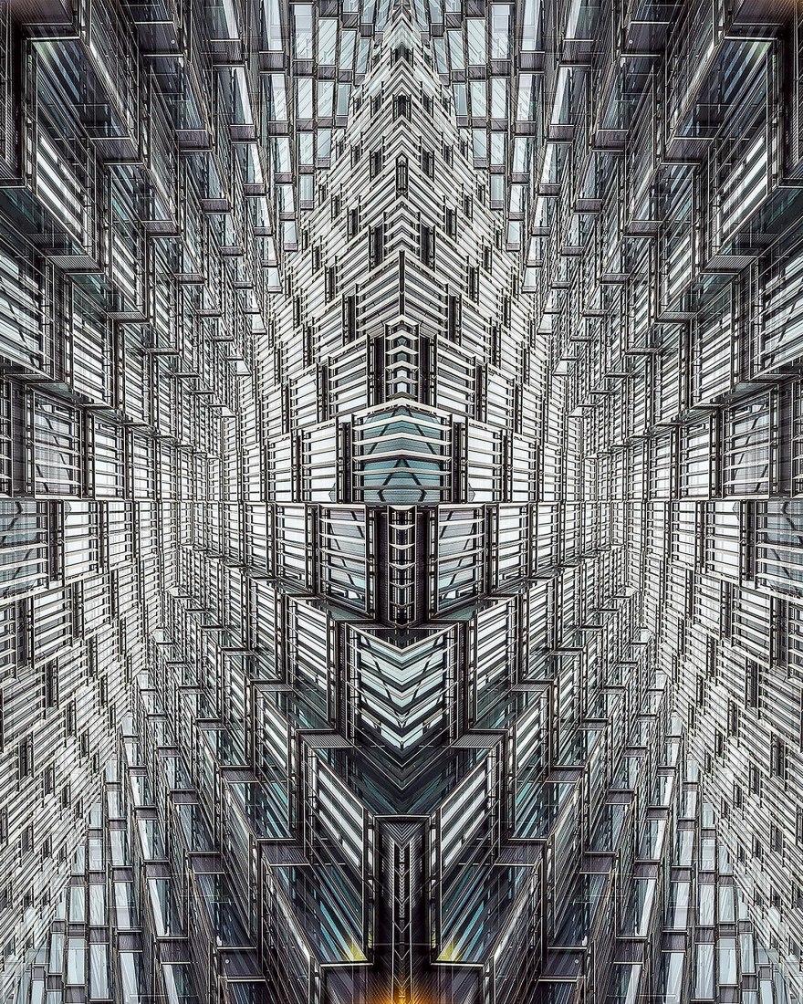 GEOMETRICAL 3b by Jesús Chamizo. Size.- 120x150. Courtesy of author