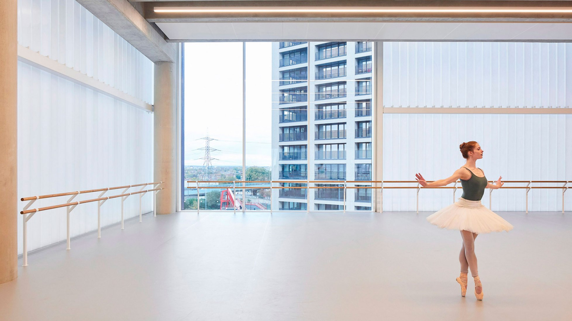 New Facility for the English National Ballet by Glenn Howells Architects. Photography by Hufton + Crow