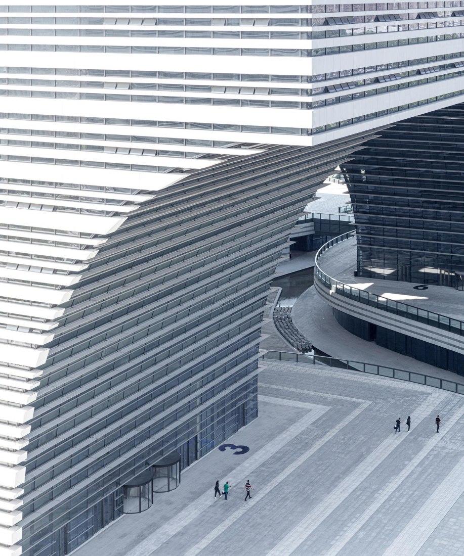 Changzhou Culture Plaza por gmp Architekten. Fotografía por Schran Image