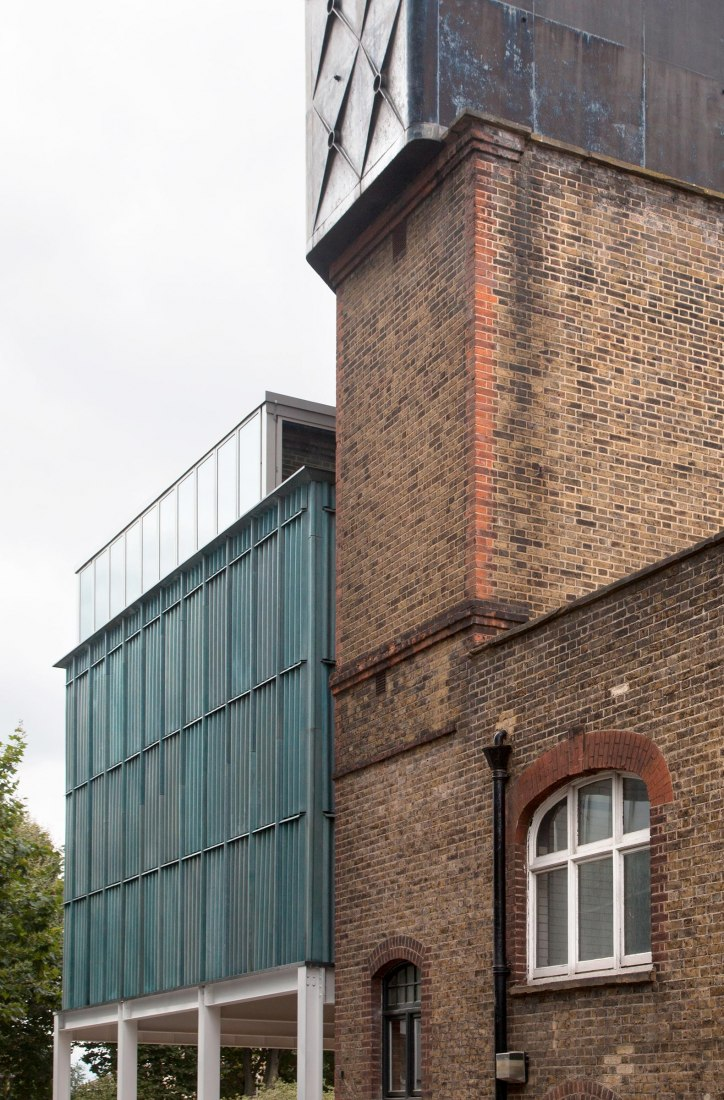 Goldsmiths Center for Contemporary Art by Assemble. Photography courtesy of Assemble
