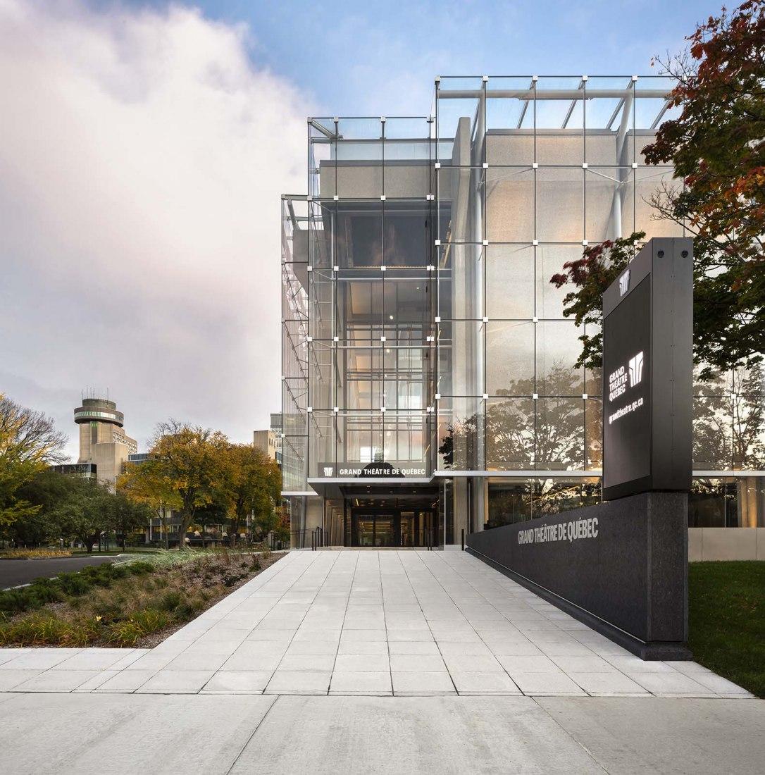Gran Teatro de Quebec por Lemay y Atelier 21. Fotografía por Stephane Groleau.