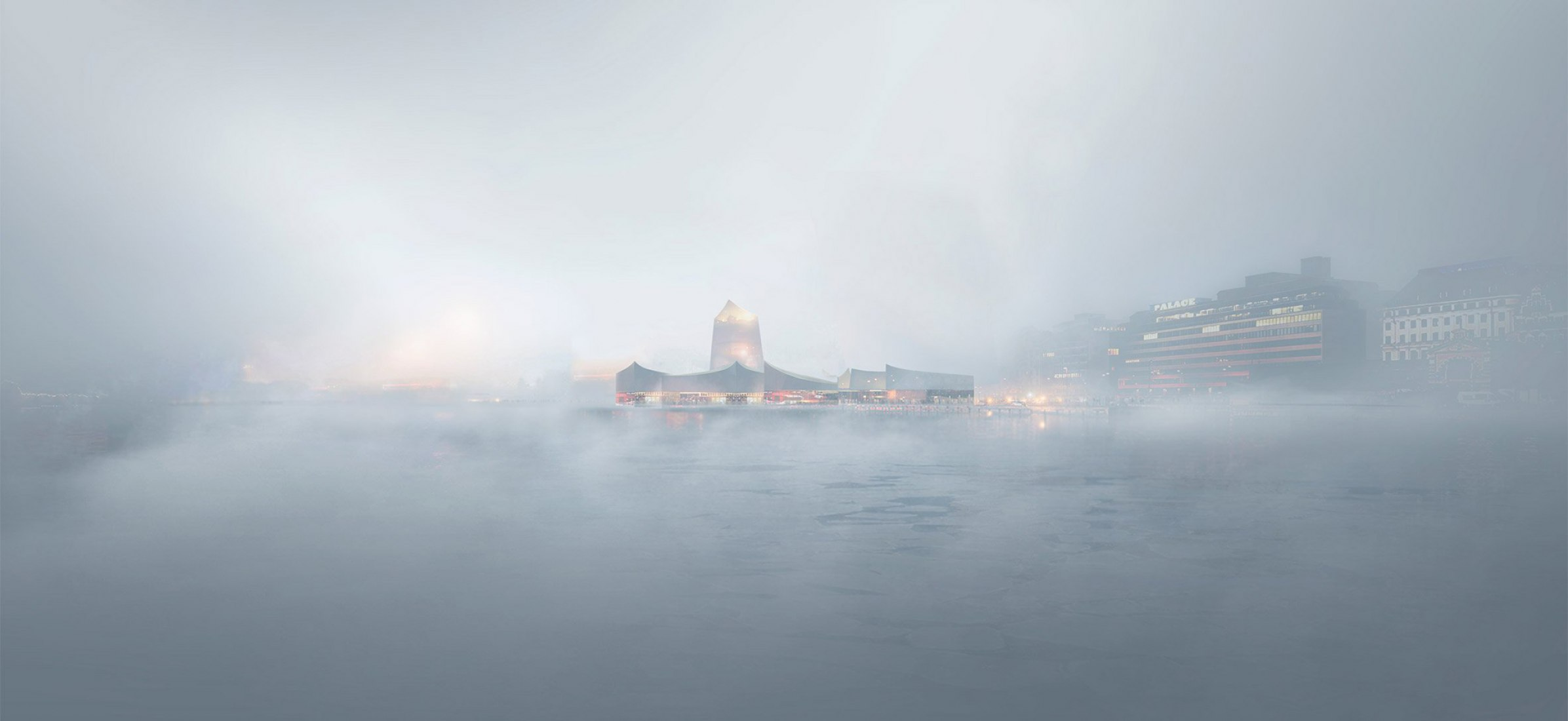 A rendering of the design for the new Guggenheim Helsinki. Plans for the museum have been voted down. Image by Moreau Kusunoki Architectes