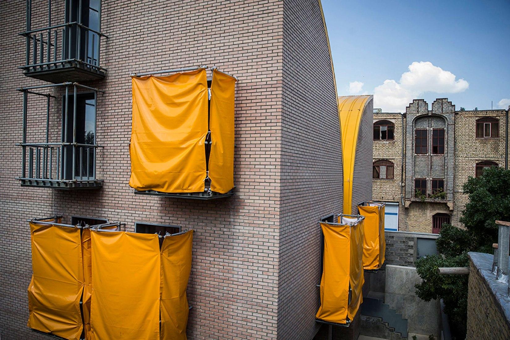 Winner. Habitat for Orphan Girls in Khansar, Iran by ZAV Architects. Photograph courtesy of 2018 AR House Awards.