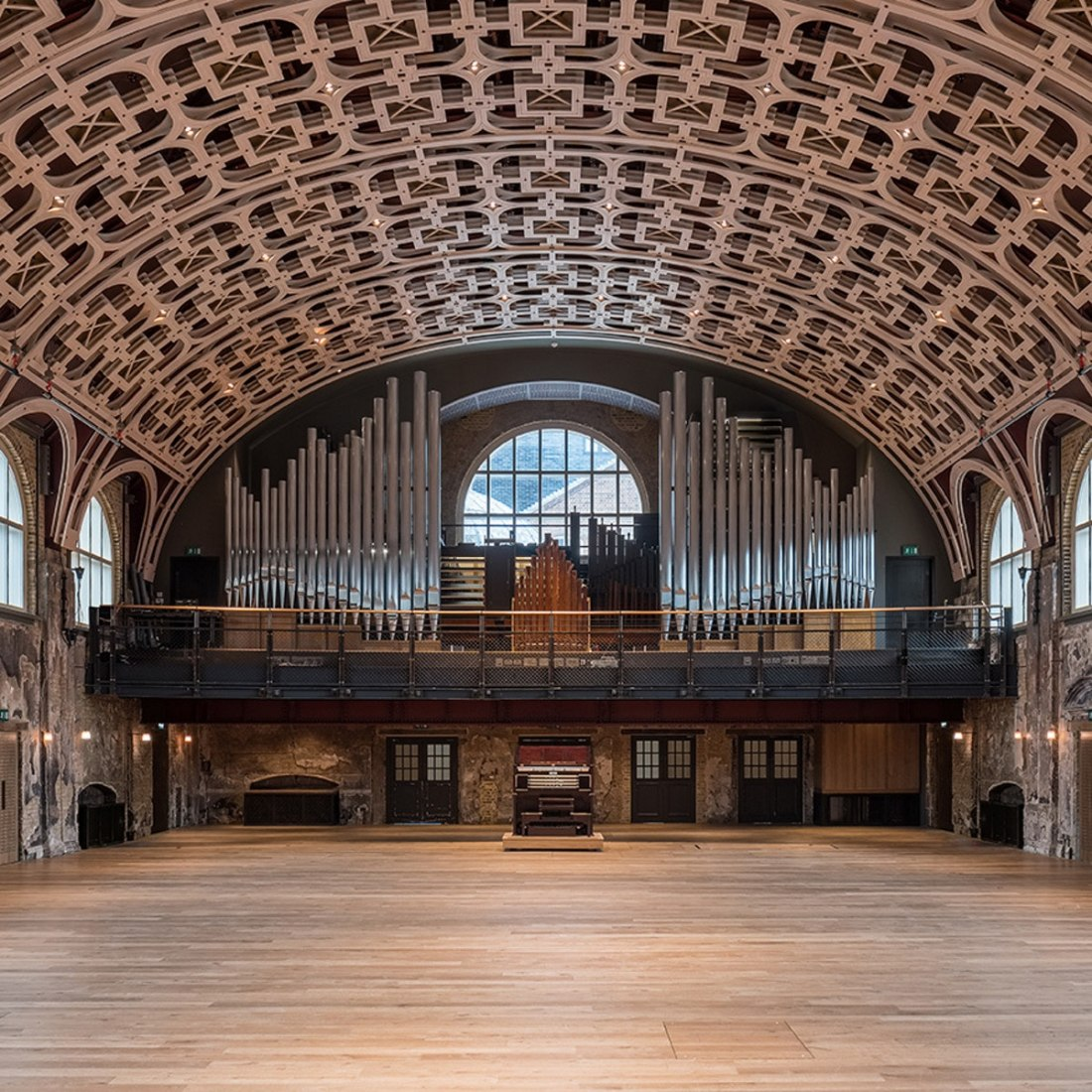 Battersea Arts Centre by Haworth Tompkins. Photograph by Fred Howarth.