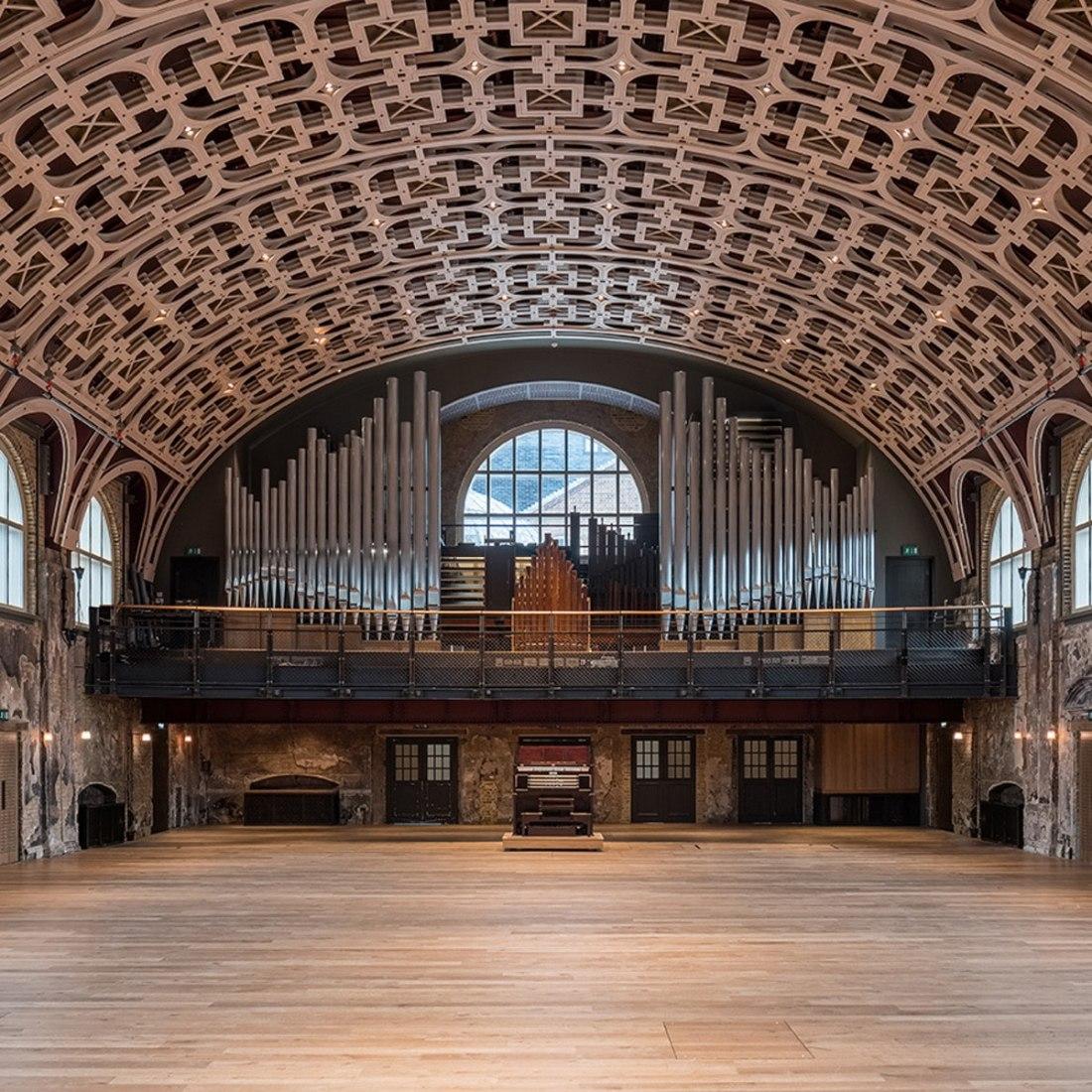 Centro de las Artes Battersea por Haworth Tompkins. Fotografía por Fred Howarth.