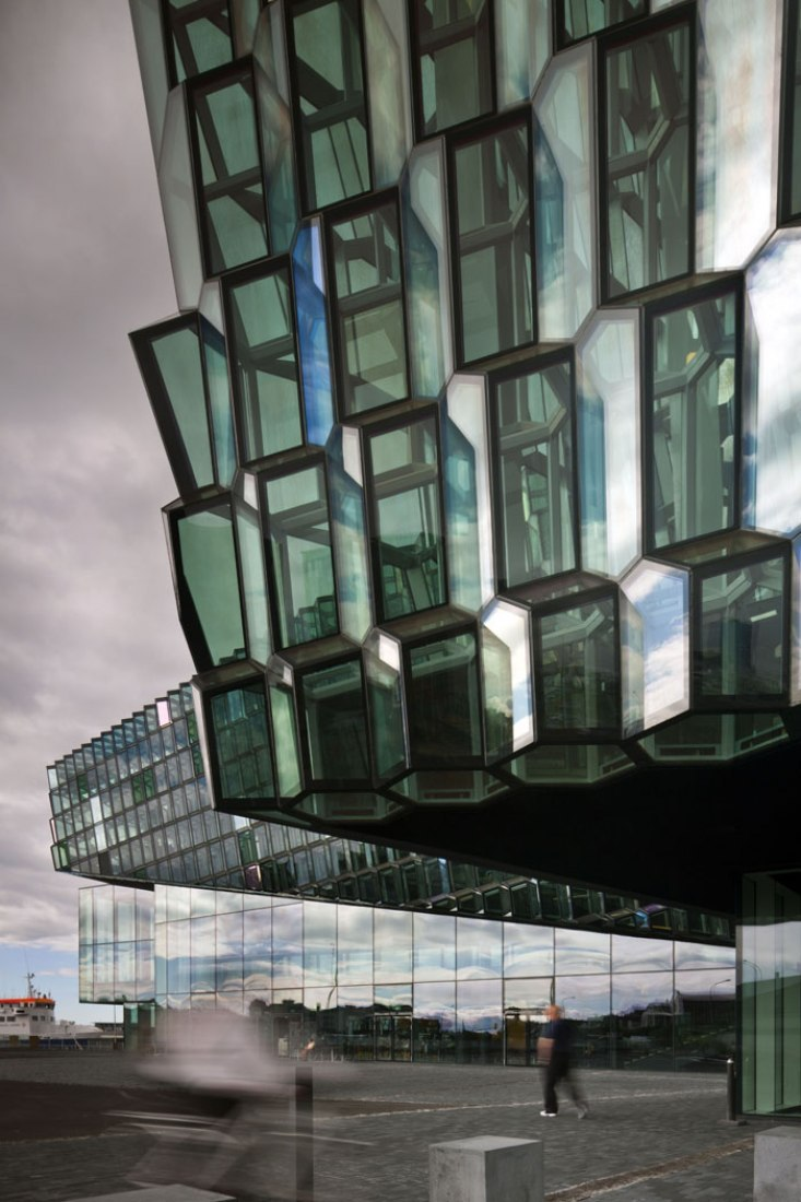 Harpa Concert Hall and Conference Centre in Reykjavik, Iceland. Design: Henning Larsen Architects + Batteriid Archtects. Photograph by Nic Lehoux.