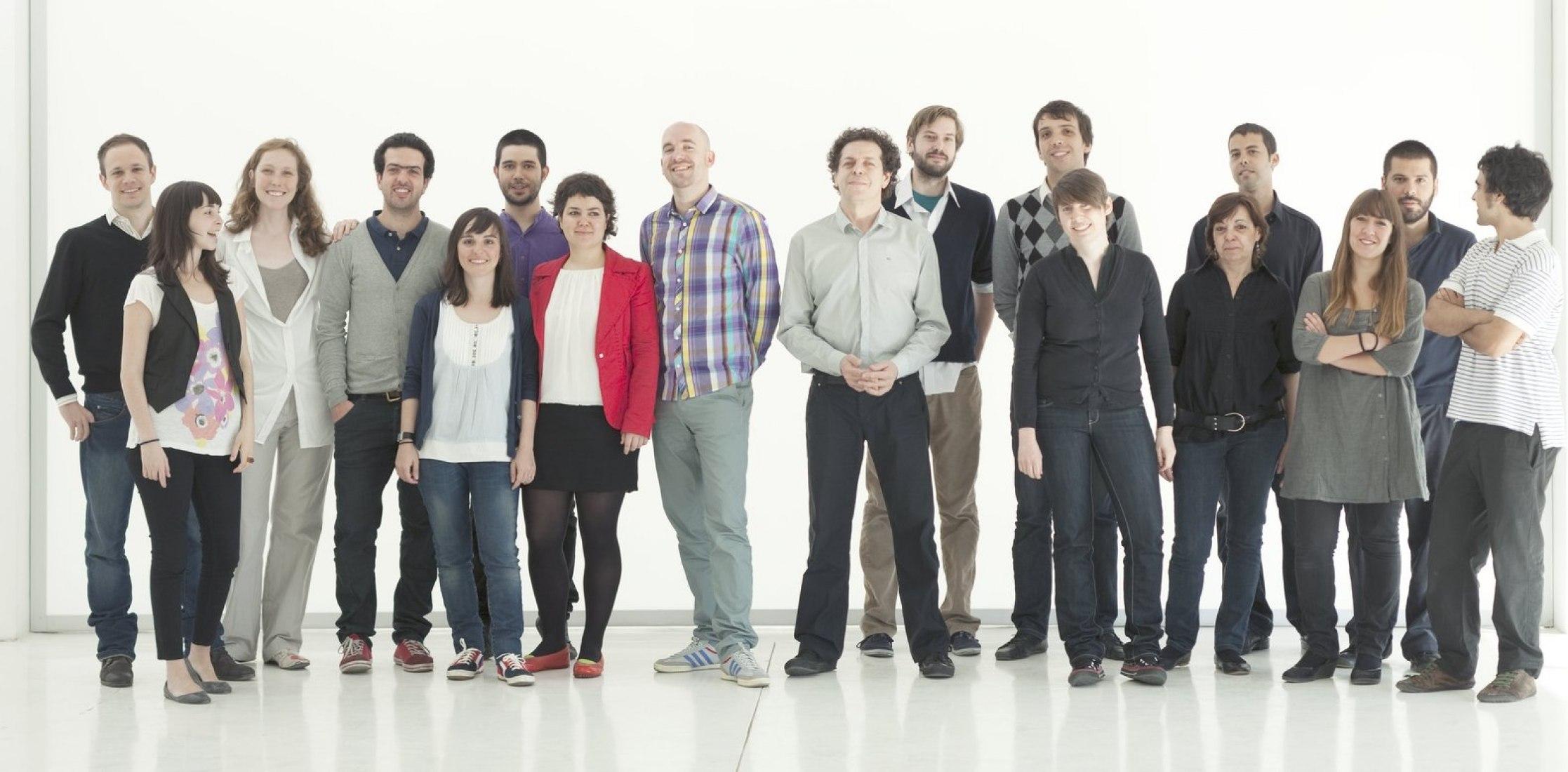 Fotografía, Herreros arquitectos equipo. ©Javier Callejas.