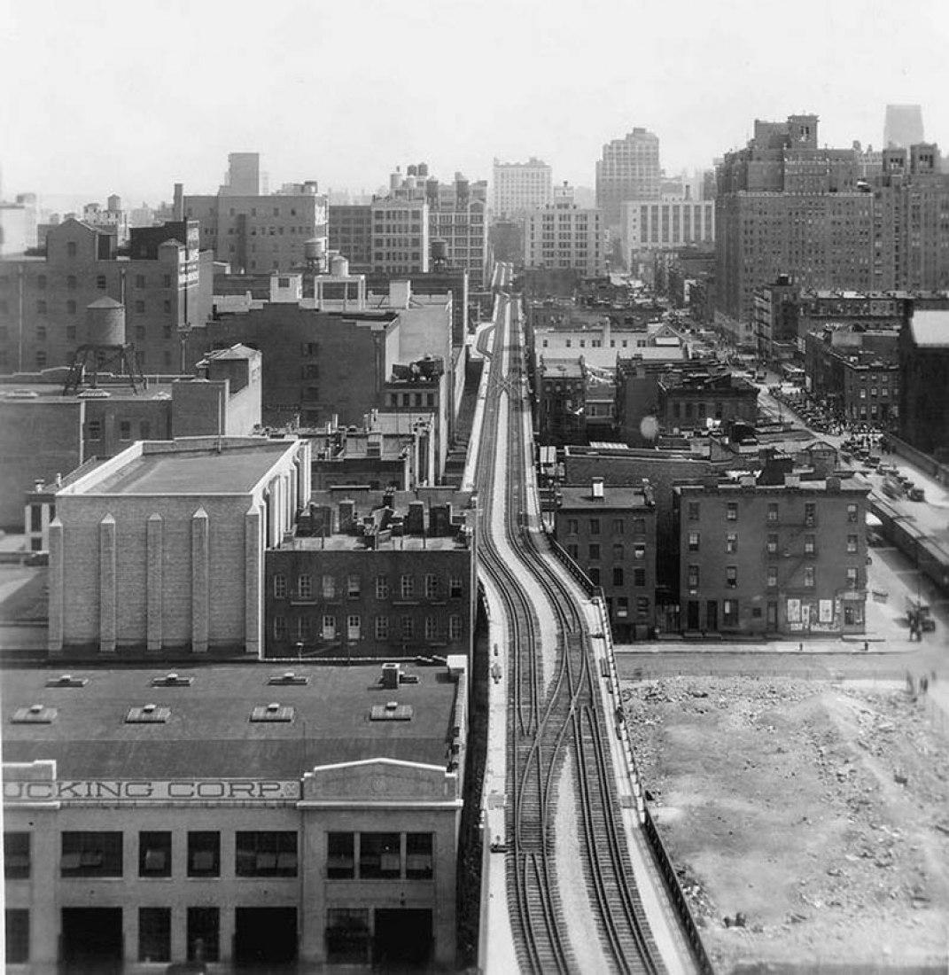 High Line Manhattan 17th street. Robert Hammond: Building a park in the sky
