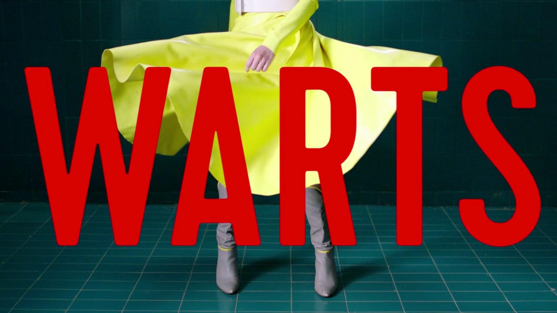 """Warts"" de Leave Me Alone (2016) para Hinds."