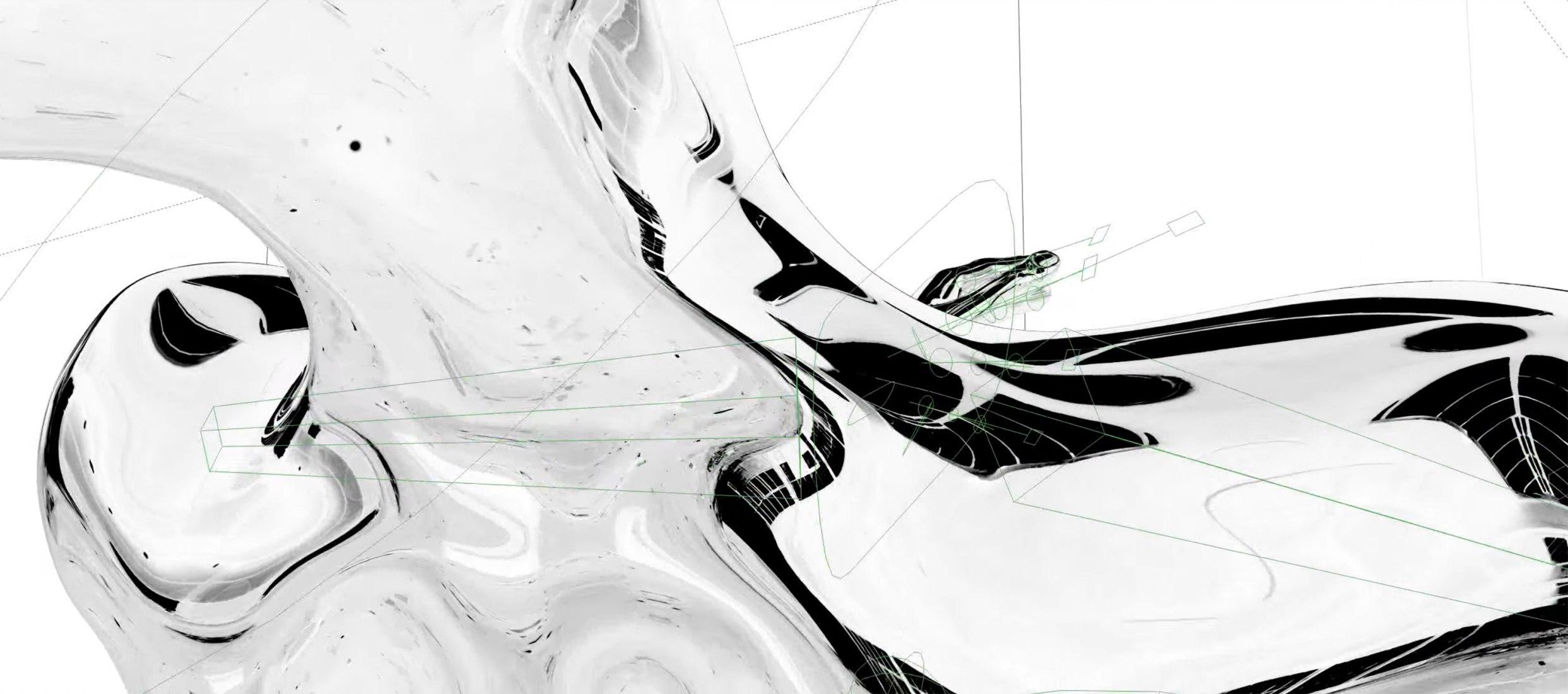 I Feel That por Ash Koosha. Visualizaciones por Ash Koosha
