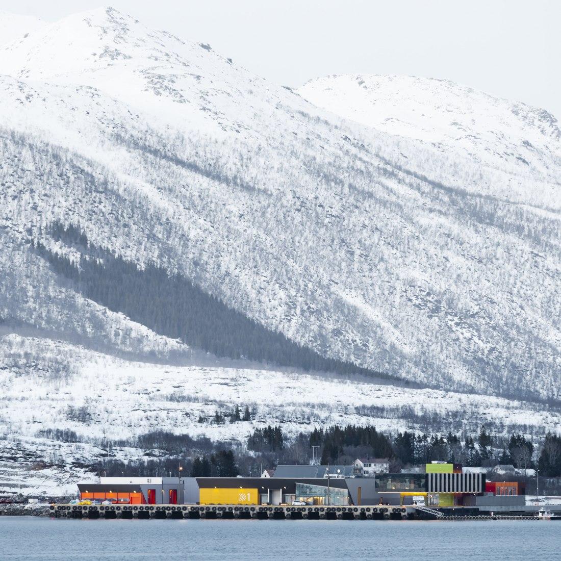 Holmøy Maritime by Snøhetta. Photograph by Ketil Jacobsen.