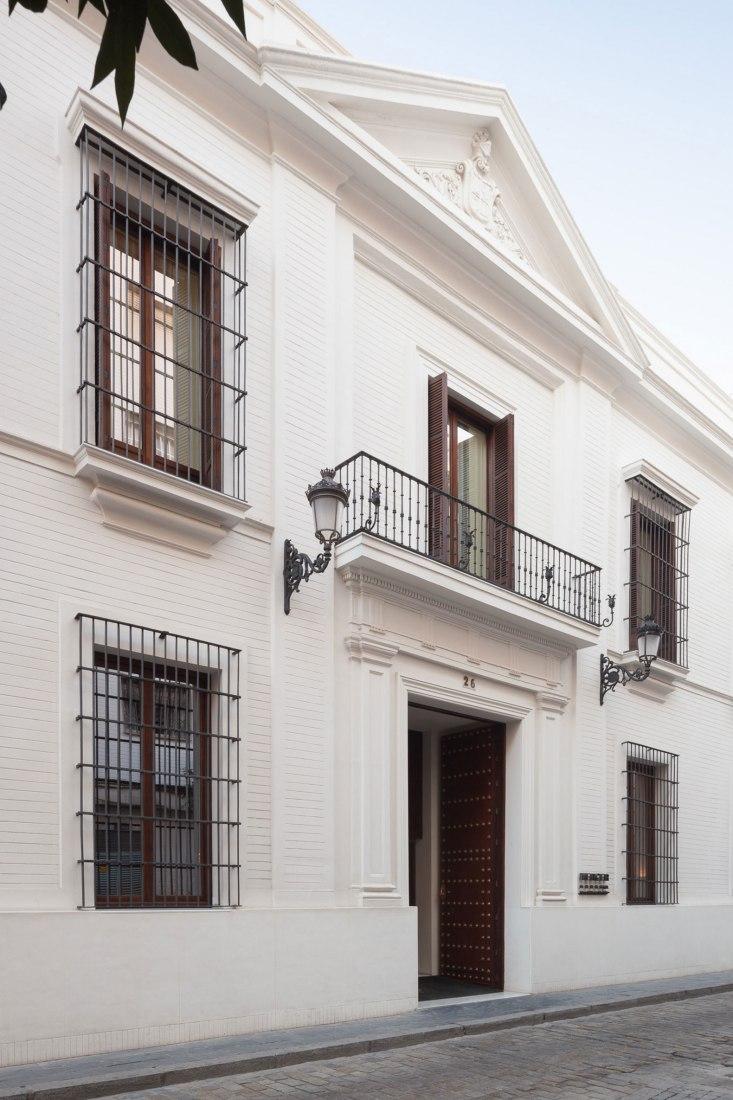 Hotel Mercer 5* en Casa Palacio Castelar por Cruz y Ortiz. Fotografía por Manolo Espaliú.