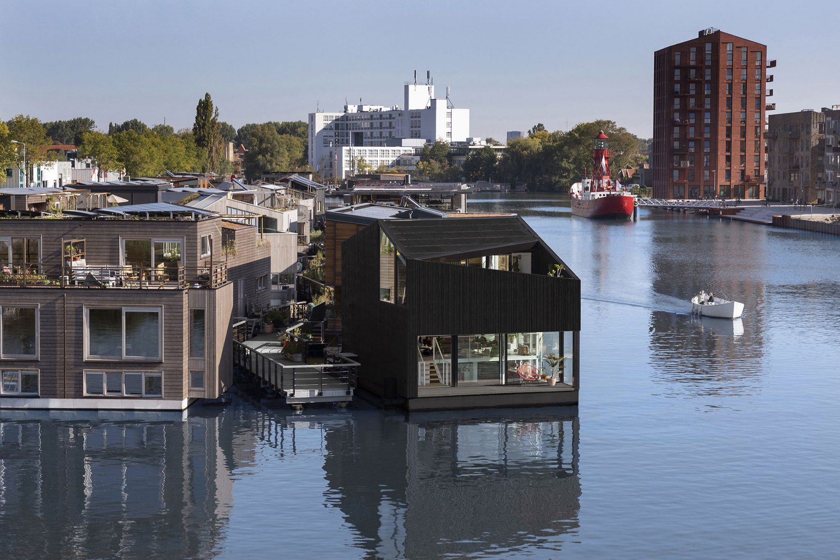 Floating Home by i29 architects. Photograph by Ewout Huibers