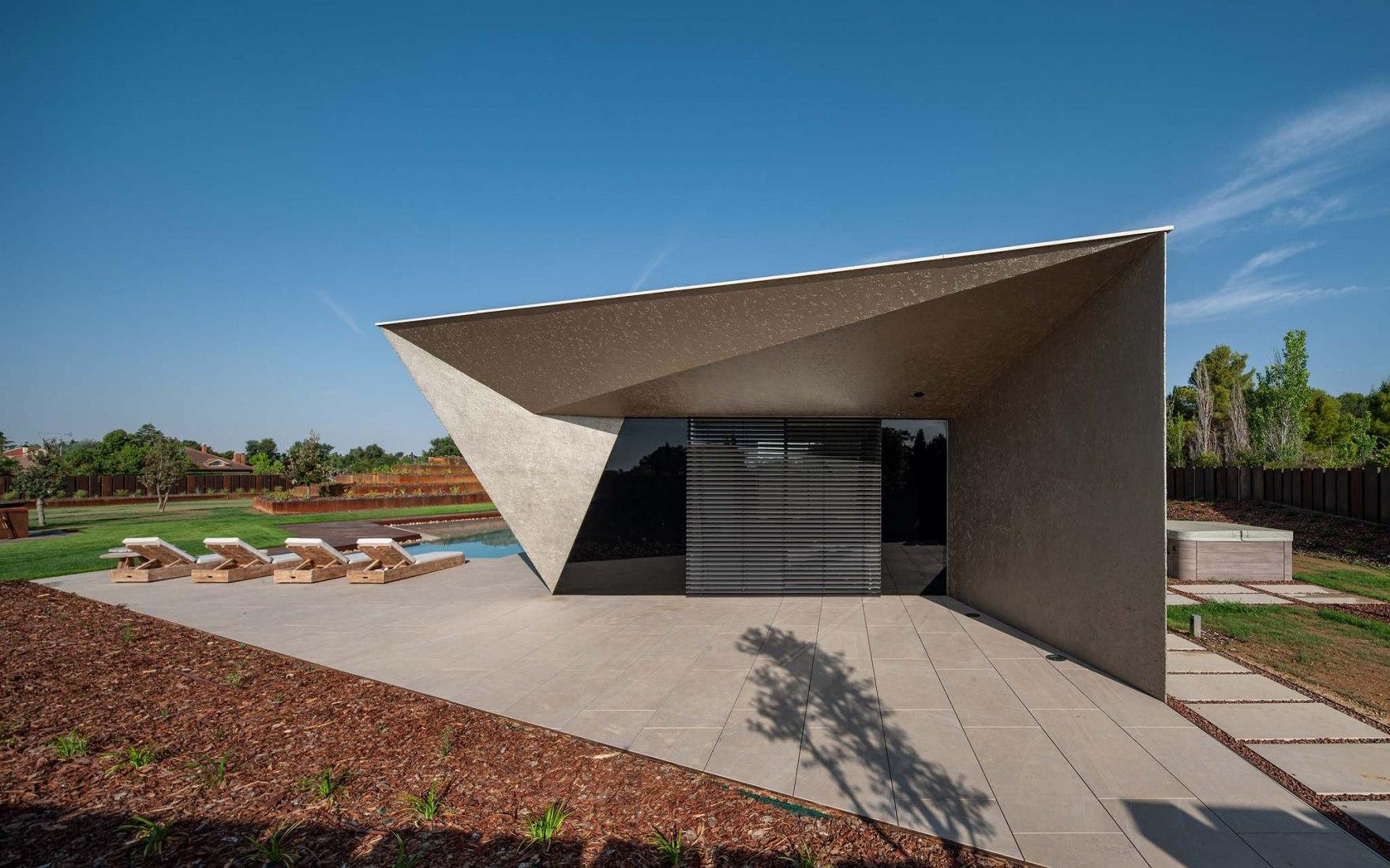 Vivienda unifamiliar MXM Aragón por i2G Arquitectos. Fotografía por Josema Cutillas.