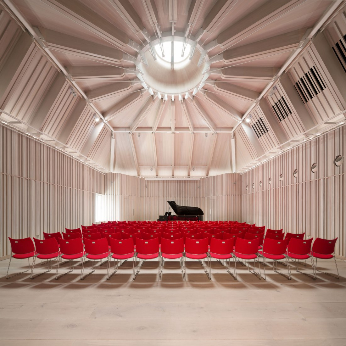 Royal Academy of Music by Ian Ritchie Architectes © Photograph by Adam Scott. Image courtesy of RIBA