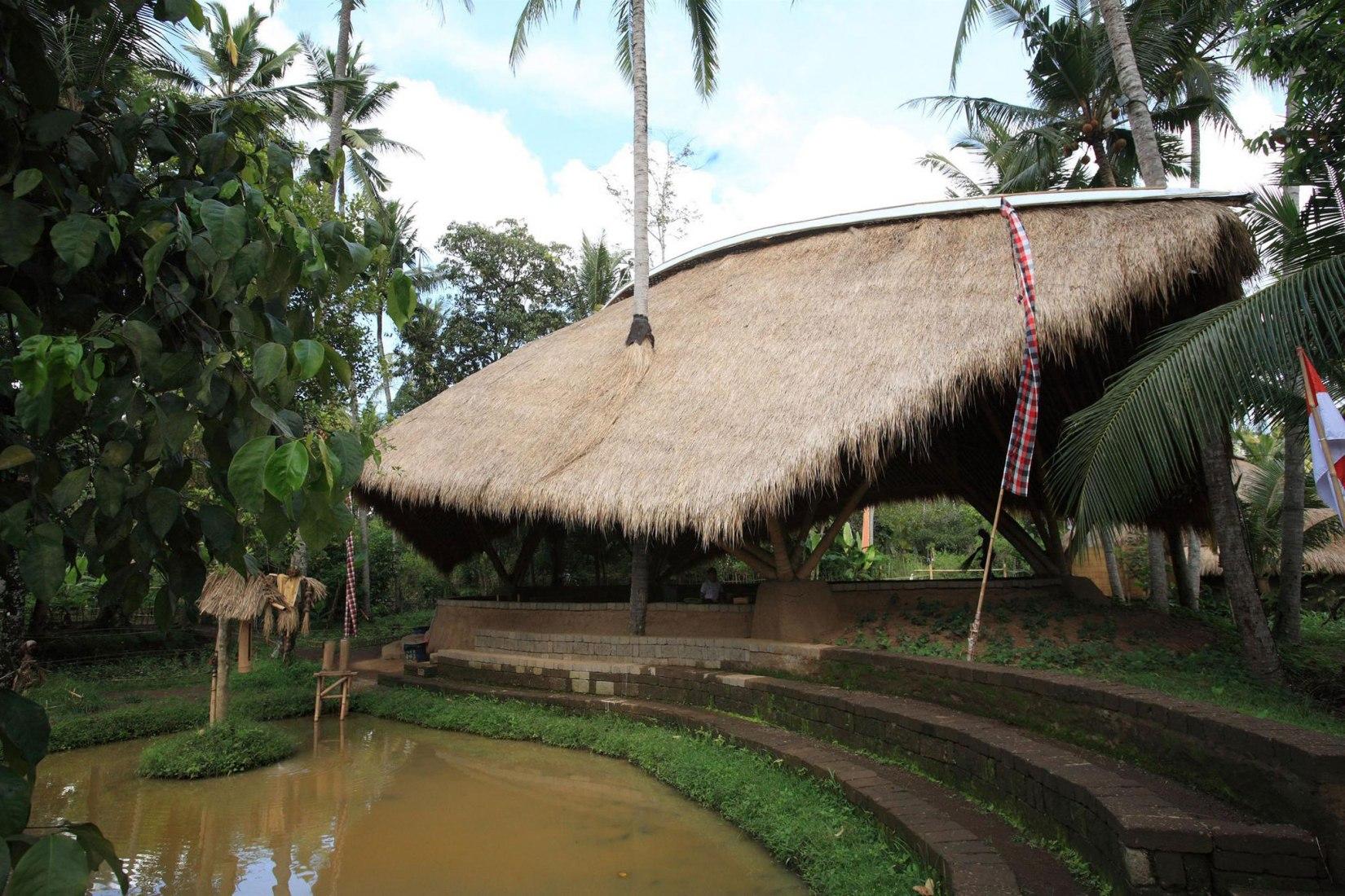 Vista exterior. Fotografía © Courtesy of IBUKU