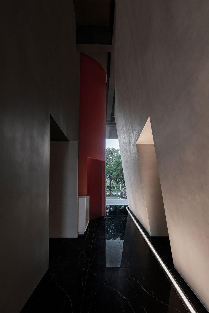 In | Out / MAIMENG Espacio Corporativo por Lucien Organization - Masanori Designs. Fotografía por Yujie Liu