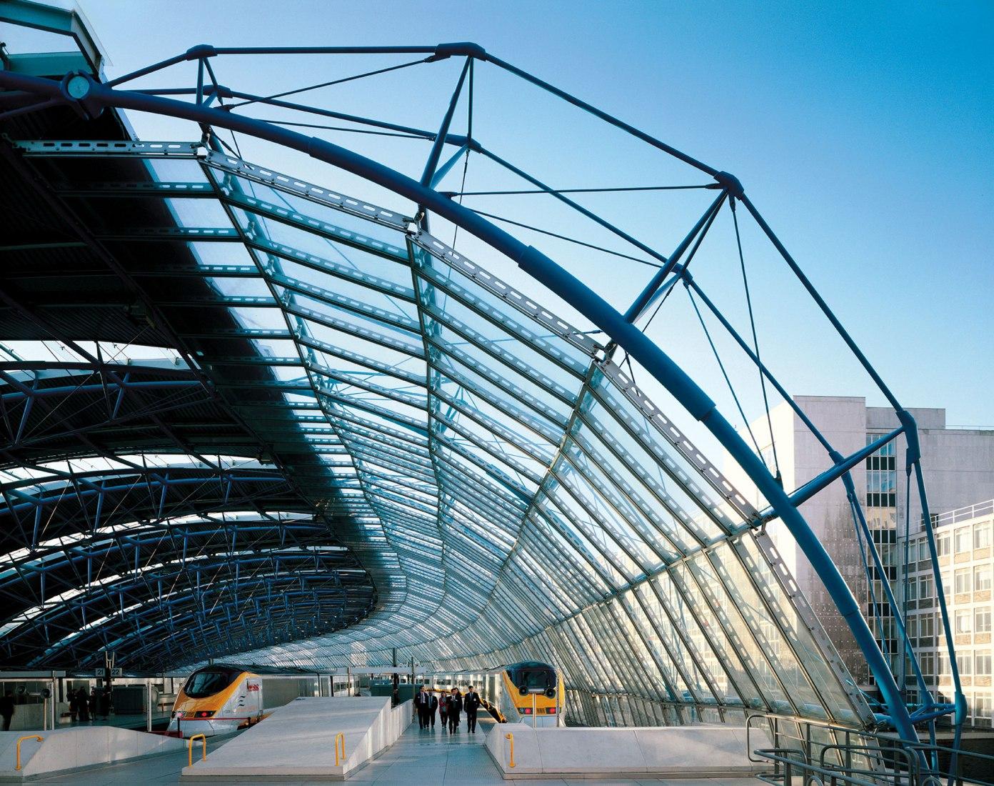Terminal internacional Waterloo por Grimshaw, cortesía de Jo Reid y John Peck